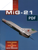 Famous Russian Aircraft MiG 21