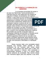 A MORTE DO ESPÍRITO E A FORMAÇÃO DO ANDRÓIDE