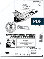 Space Shuttle Vandenberg AFB Environmental Impact Report - 1983