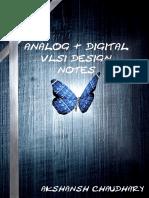 Analog and Digital VLSI Design Notes