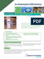 Electro-Deionization US Anderson