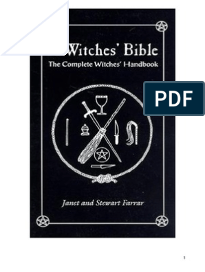 a Witches Bible the Complete Witches Handbook by Janet and Stewart