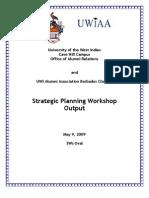 UWIAA (Barbados) Strategic Plan 2009-2014
