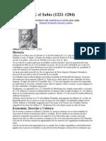 3. Alfonso X El Sabio