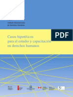 Casos Hipoteticos de La Corte Interamericana de Derechos Humanos