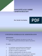 Conceptos Generales de Administracion