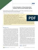 Estabilidade Plasmatica de NAH