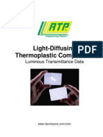 Light Diffusing Compound Technical Manual
