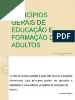 Principios Gerais de Educacao de Adultos (1)