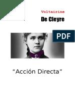 Accion Directa Por Voltairine de Cleyre