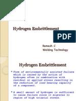 Hydrogen Embrittlement