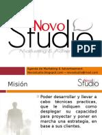 Presentación Novo Studio marketing & advertising