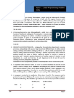 OPERATIONS RESEARCH Assignment -1 Formulation of LPP