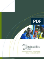2003 Sustainability Review (April 2004)