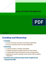 Coaching , Mentoring and Talent Management