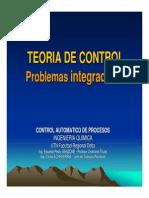 Teoría de Control - Problemas Integradores