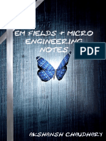 EM Fields and Micro Engineering Notes