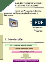 Programa de Control de Competencias