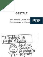 Presentación de la Gestalt