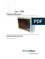 SPA WA 1500 Patient Monitor