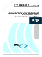 Recomendacion ETIS TS 102 250.pdf