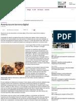 Aventuras em terreno digital - Caderno 3 - Diário do Nordeste