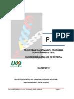 PEP DISEÑO INDUSTRIAL 2012 (1)