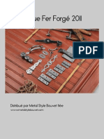 catalogue fer forgé