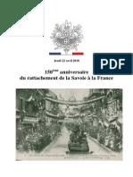 10 04 22Rattachement Savoie a La France