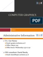 Computer Graphics, Oop, And Osg