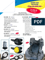 Pacifica Dive Entry Set Package