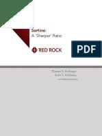 "Sortino - a ""Sharper"" Ratio! - Red Rock Capital"