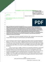 6 13 13 0204 61383 Declaration of Coughlin Concernign Trespass Conviction and Hill's Sworn Testimony 13-17328