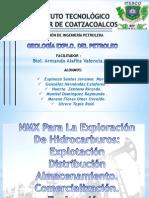 NMX Para La Exploración De Hidrocarburos, Explotación, Distribución, Almacenamiento, Comercialización & Exploración-EQUIPO 3