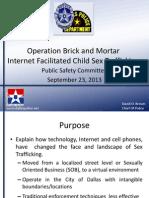 Operation Brick and Mortar