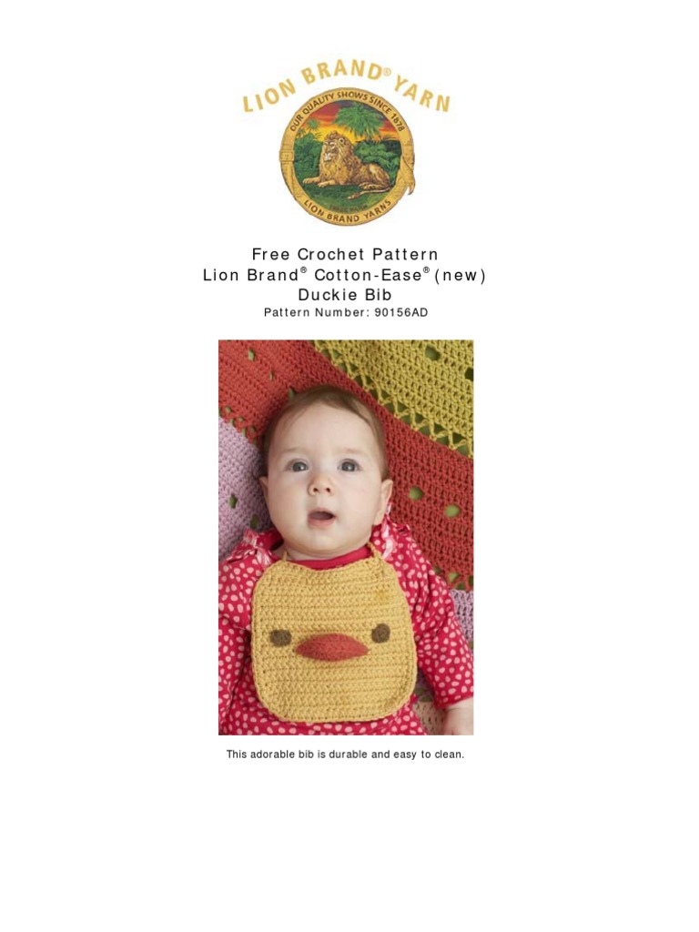baby crochet bib | Crochet | Gauge (Knitting)