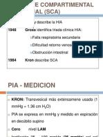 14.Sindrome Compartimental Abdominal (Sca) 2011 Dr. Villena