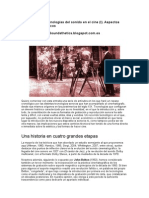 Historia de las tecnologías del sonido en el cine.pdf