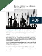Venezuela Incuba Una Severa Crisis de Mano de Obra Calificada