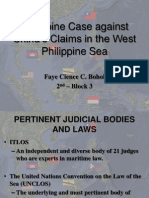 The Dispute between Philippines and China Concerning Territorial Claims in the West Philippine Sea
