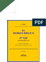 [Languages] Curso de Hebreo Biblico