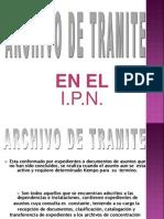 A- El Archivo de Tramite