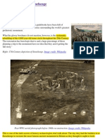 History - Stonehenge - How They Rebuilt Stonehenge - And Didn't Tell