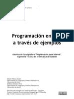 Programacion PHP a traves de ejemplos
