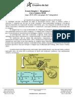 UNICSUL Bioquim EstudoDirigido Quimica 2013
