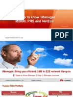 7 Steps to Know iManager M2000 PRS and NetEco V1.0 (20111126)
