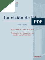 Nicolás de Cusa - La visión de Dios 6a_ed