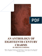 An Anthology of 18th Century Charms by Miranda Goshawk