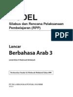 RPP Berbahasa Arab MI 3 R1