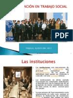 Las Instituciones 2013